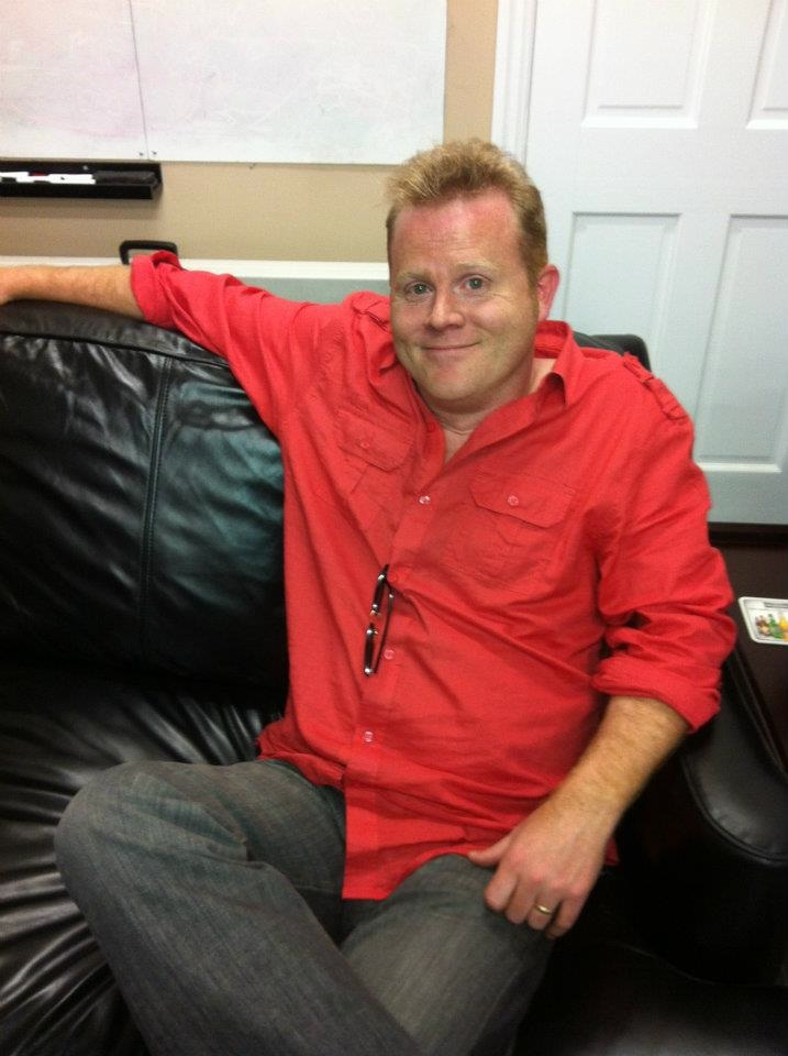 Scott Chantler On The Couch