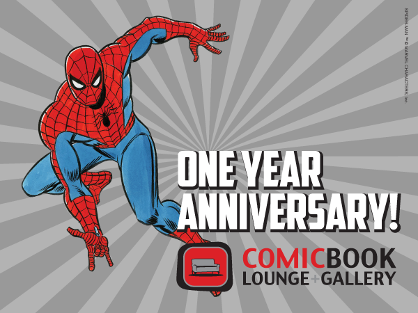 Feb. 9th: 1st Year Anniversary Minicon + Sale + On the Couch + Industry Night =AWESOME!