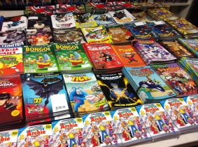 We had over 2000 free comics to hand out from dozens of different publishers.