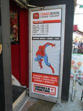 The new door sign was hung on FCBD!