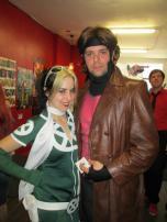 Toronto Gambit and Toronto Rogue Cosplay (and Sean Ward)