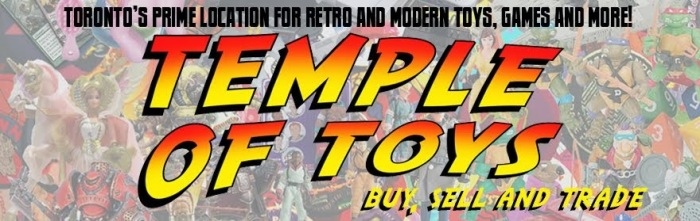Temple of Toys Banner