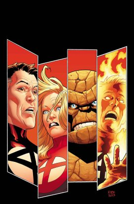 Fantastic Four #1 debuts this week by James Robinson and Leonard Kirk