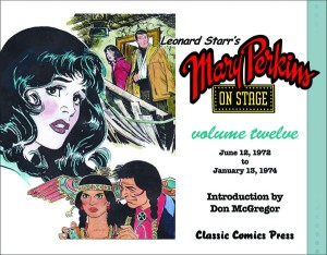 The long-awaited 12th Volume of Mary Perkins On Stage will be out